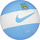 Nike Manchester City Skills Ball - White and Blue