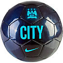 Nike Manchester City Supporters Soccer Ball - Blue and Clearwater