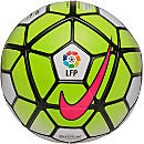 Nike La Liga Ordem 3 Match Soccer Ball - White and Volt