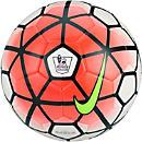 Nike Saber Match Soccer Ball - Premier League - White & Bright Crimson