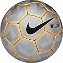 Nike SCCRX Flash Duravel Soccer Ball - Reflective Silver & Metallic Gold