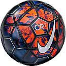 Nike CR7 Prestige Soccer Ball - Lava Glow & Metallic Silver