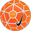Nike Pitch Soccer Ball - White and Orange