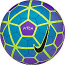Nike Pitch Soccer Ball - Hyper Grape & Blue Lagoon