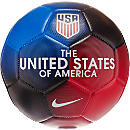 Nike USA Prestige Soccer Ball - University Red & Game Royal