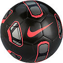 Nike Tracer Soccer Ball - Metallic Black & Hyper Crimson