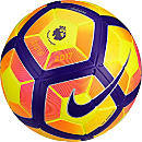 Nike Ordem 4 Hi-vis Match Ball - EPL - Yellow & Purple