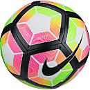Nike Strike Soccer Ball - White & Bright Crimson