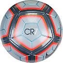 Nike Ordem 4 CR7 Soccer Ball - Wolf Grey & Total Crimson