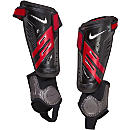 Nike Protegga Shield Shin Guards - Black and Red