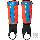 Nike Kids Charge Shin Guards - Total Crimson & Cyan