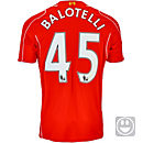 Warrior Kids Balotelli Liverpool Home Jersey 2014-15