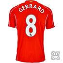 Warrior Kids Gerrard Liverpool Home Jersey 2014-15
