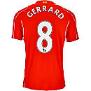 Warrior Gerrard Liverpool Home Jersey 2014-15