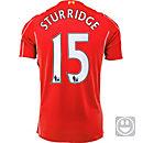 Warrior Kids Sturridge Liverpool Home Jersey 2014-15