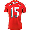 Warrior Sturridge Liverpool Home Jersey 2014-15