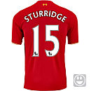 New Balance Kids Daniel Sturridge Liverpool Home Jersey 2015