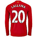New Balance Adam Lallana Liverpool L/S Home Jersey 2015