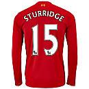 New Balance Daniel Sturridge Liverpool L/S Home Jersey 2015