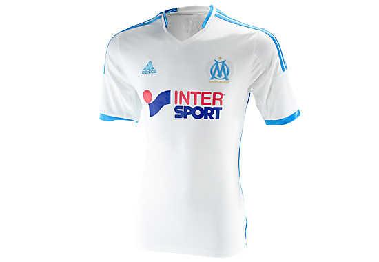 adidas Marseille Home Jersey 2013-2014