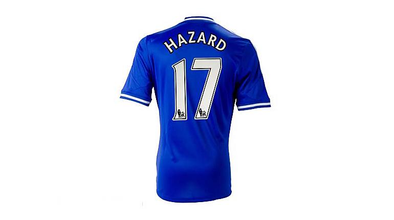 adidas Chelsea Hazard Home Jersey 2013-2014