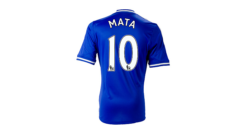 adidas Youth Chelsea Mata Home Jersey 2013-2014