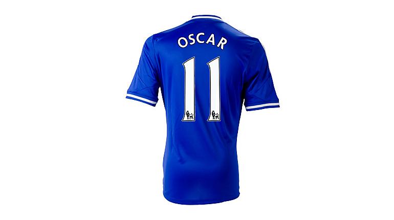 adidas Chelsea Oscar Home Jersey 2013-2014