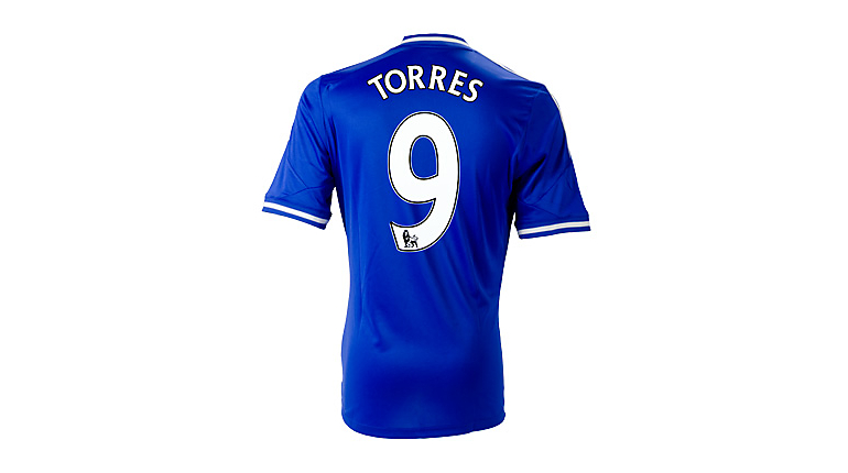 adidas Chelsea Torres Home Jersey 2013-2014