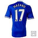 adidas Youth Chelsea Hazard Home Jersey 2013-2014