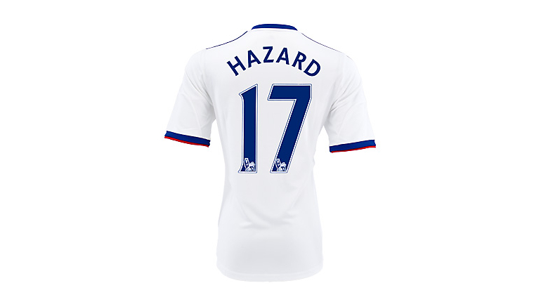 adidas Youth Chelsea Hazard Away Jersey 2013-2014
