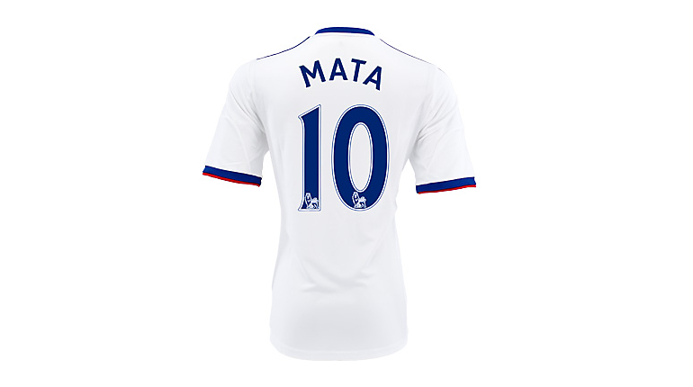 adidas Youth Chelsea Mata Away Jersey 2013-2014