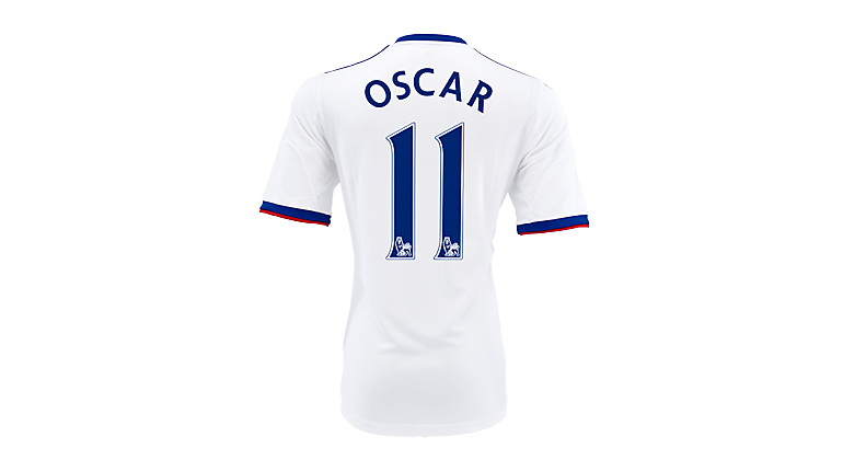 adidas Youth Chelsea Oscar Away Jersey 2013-2014