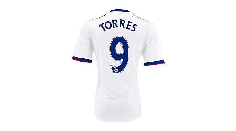 adidas Chelsea Torres Away Jersey 2013-2014
