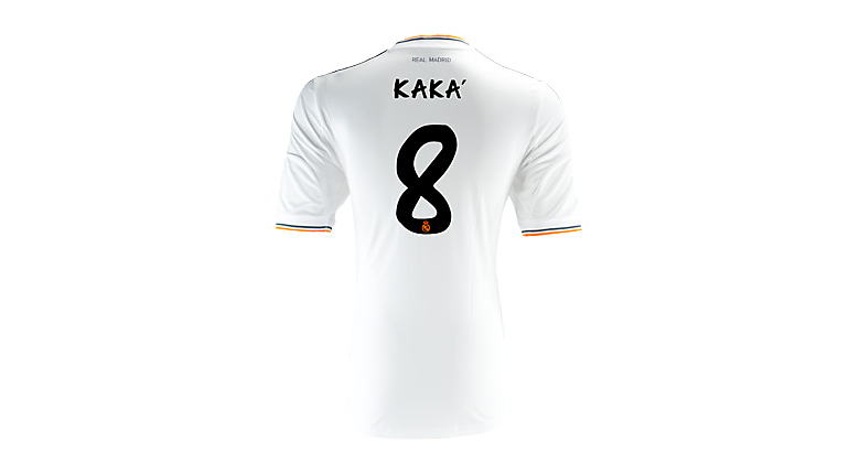 adidas Real Madrid Kaka Home Jersey 2013-2014