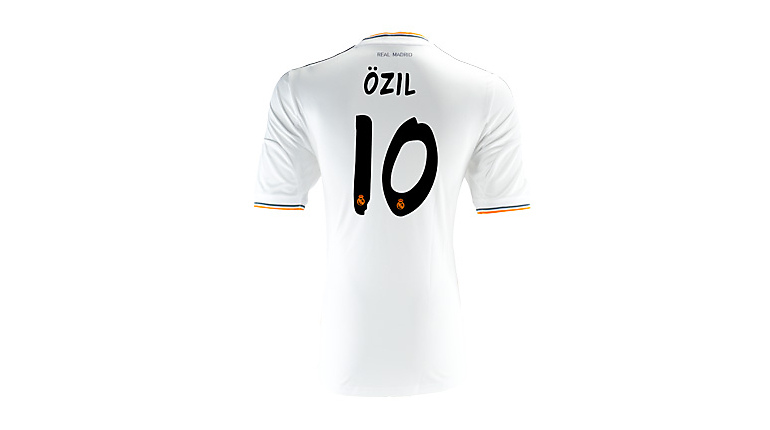 adidas Youth Real Madrid Ozil Home Jersey 2013-2014