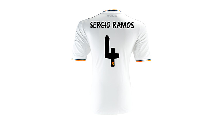 adidas Real Madrid Sergio Ramos Home Jersey 2013-2014