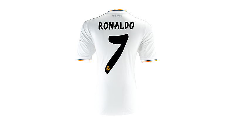 adidas Youth Real Madrid Ronaldo Home Jersey 2013-2014