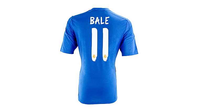 adidas Youth Real Madrid Bale Away Jersey 2013-2014