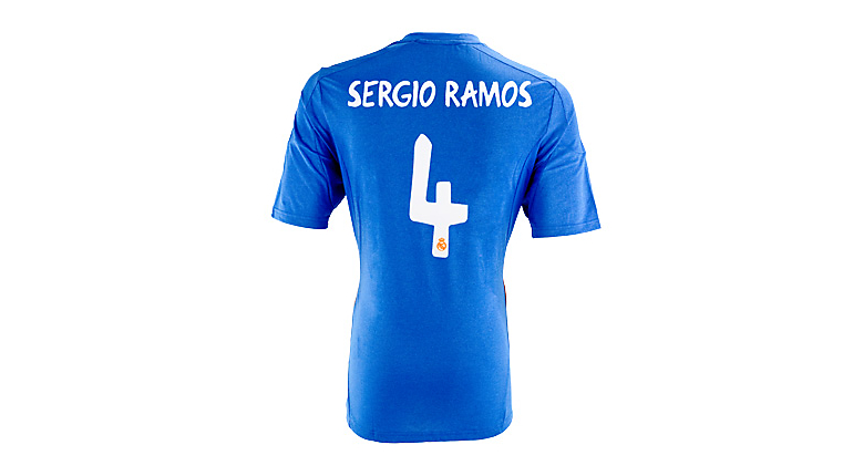 adidas Real Madrid Sergio Ramos Away Jersey 2013-2014