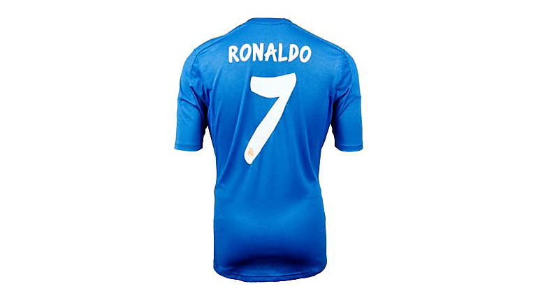 adidas Youth Real Madrid Ronaldo Away Jersey 2013-2014