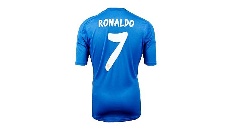 adidas Real Madrid Ronaldo Away Jersey 2013-2014