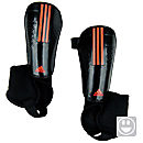 adidas Youth 11Pro Shin Guards  Black with Pop