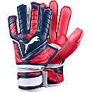 Puma evoPOWER 1 Super Goalkeeper Gloves - Peacoat and Red