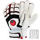 Uhlsport Cerberus Supersoft Bionik Goalkeeper Glove  White with Black