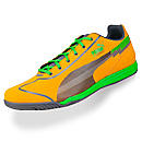 Puma evoSPEED Star Indoor Soccer Shoes  Flame Orange with Charcoal