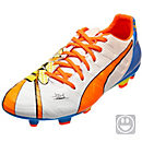 Puma Kids evoPOWER 3.2 Graphic FG - White & Orange Clown Fish