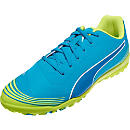 Puma evoSTREET 1 TF Soccer Shoes - Atomic Blue & Safety Yellow