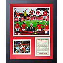 Manchester United Framed Art Collage