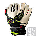 Reusch Argos Pro Duo M1 OrthoTec Goalkeeper Gloves  Black with White
