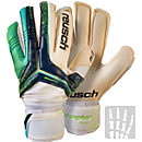 Reusch RE:CEPTOR Pro A2 Ortho-Tec Goalkeeper Gloves - Navy and Aqua